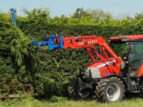 The SA-1000 Swivel Trim Tractor Front Loader Finger Bar