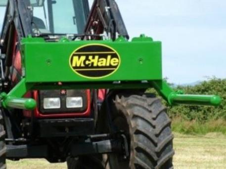 McHale 691 Round Bale Handler