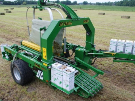 McHale 998 – High Output Square Bale Wrapper