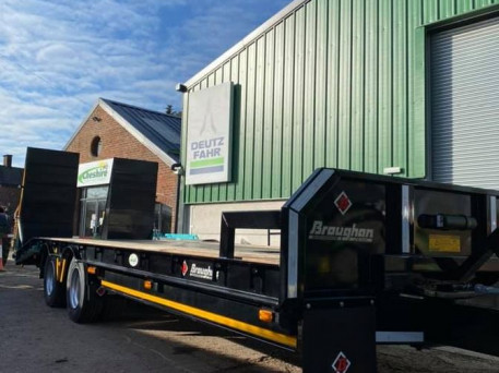 NEW BROUGHAN LOW LOADER