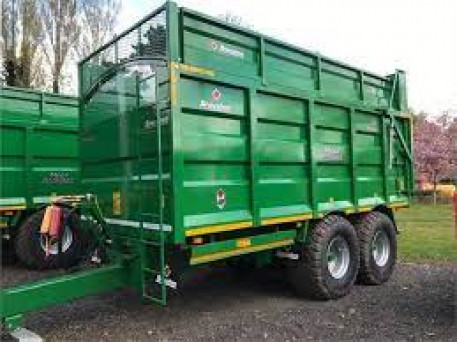 BROUGHAN 14TON SILAGE TRAILER *DUE IN*